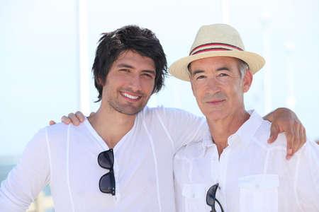 blithe: Padre e hijo juntos de vacaciones