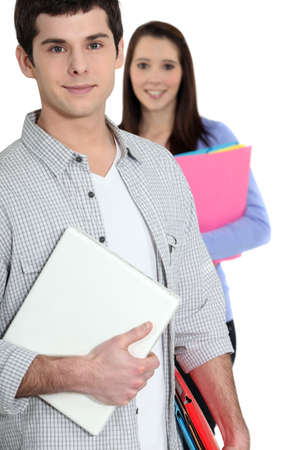studygroup: Students holding folders