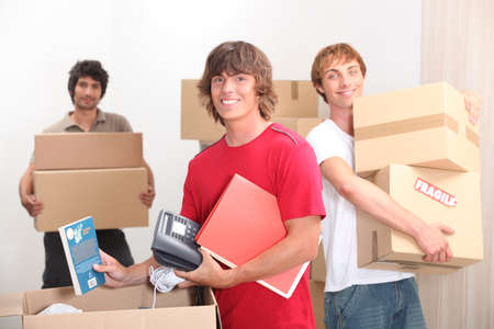 roommates: Moving day