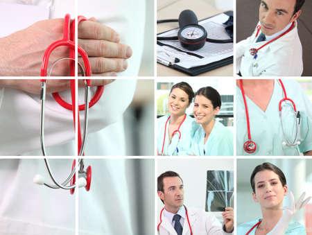 infermieri: attivit� medica Archivio Fotografico