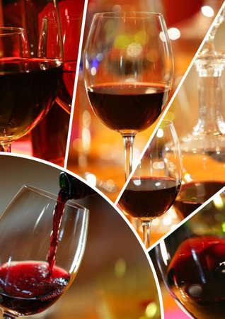 tasting wine: wine