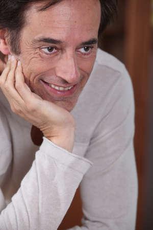 Man smiling. Stock Photo - 11775029