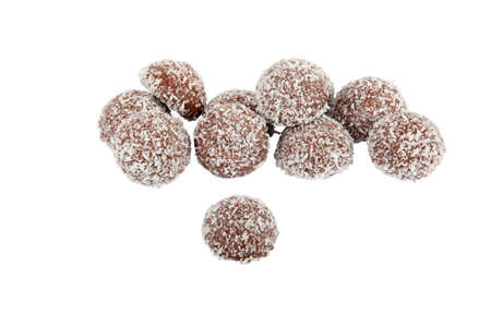 Chocolate truffles Stock Photo - 11795330