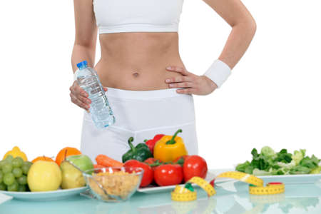 Woman on a diet photo