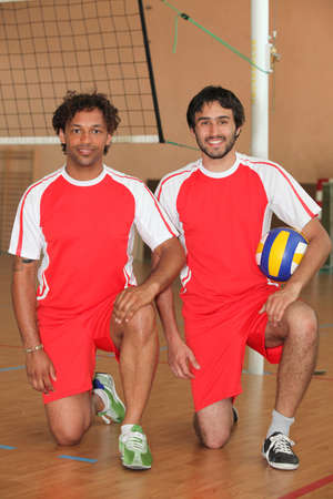 Handball players photo