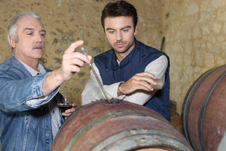 producer: an oenologist and a wine producer