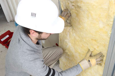 efficiently: Wall insulation