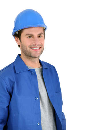 Builder portrait. Stock Photo - 11824860