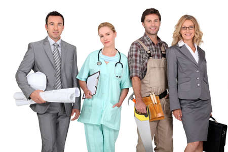 professions: Careers Stock Photo