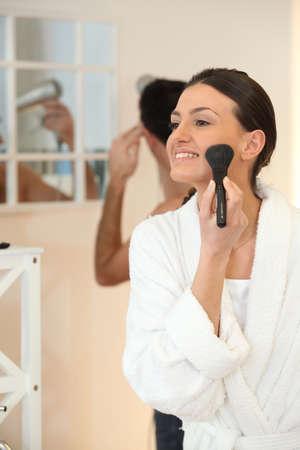 make love: Woman Stock Photo