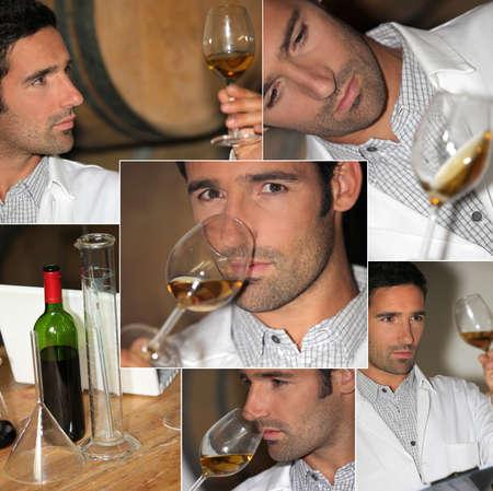 wine testing: Wine expert