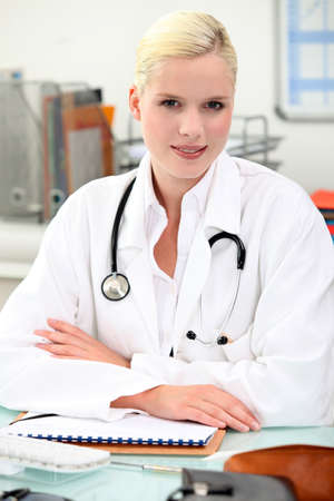 portrait of a doctor Stock Photo - 11824850