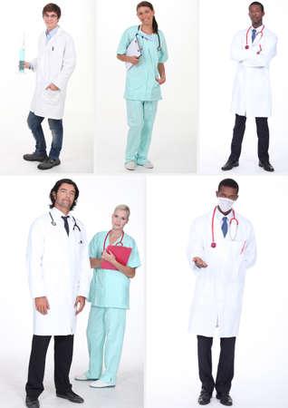 health collage: health staff