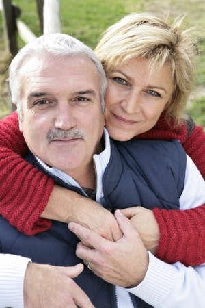 Portrait of a happy couple Stock Photo - 11842693