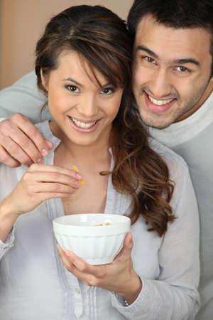 joyousness: happy couple