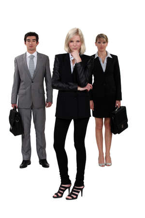 A team of ambitious business professionals Stock Photo - 11912297