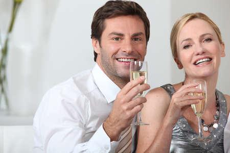 2 50: Couple celebrating