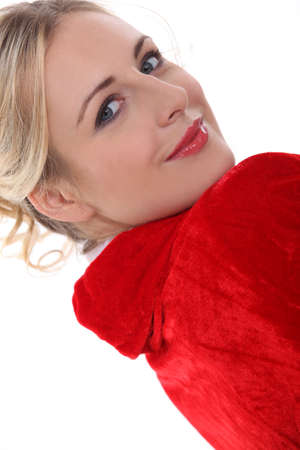 ravishing: Pretty blond Stock Photo