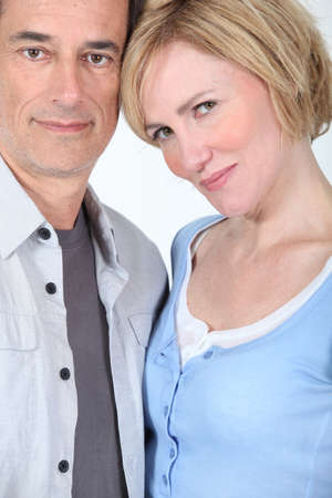 accomplices: portrait of a couple Stock Photo