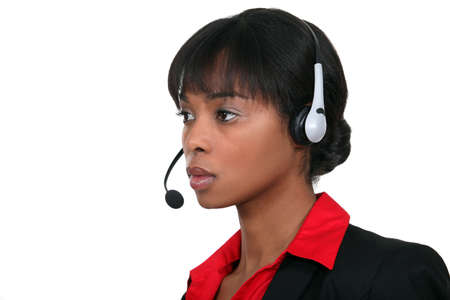 call center employee photo