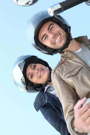 couple of bikers on a ride Stock Photo - 11913708