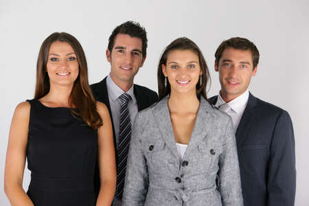 multi racial groups: A group of businesspeople