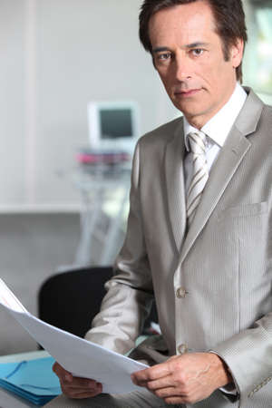 chief executive officers: Portrait of a successful chief executive officer Stock Photo
