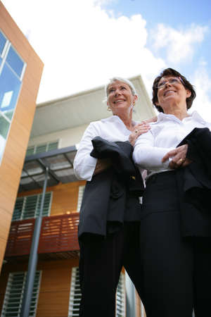 collaborators: Two women real estate promoters