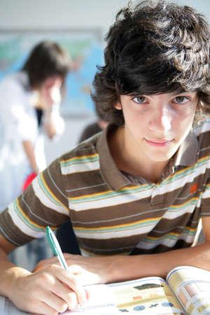 teenager at school Stock Photo - 11947535