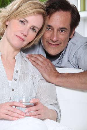 portrait of a couple Stock Photo - 11946744
