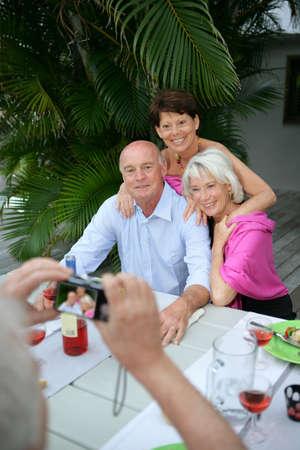 Photographing seniors photo