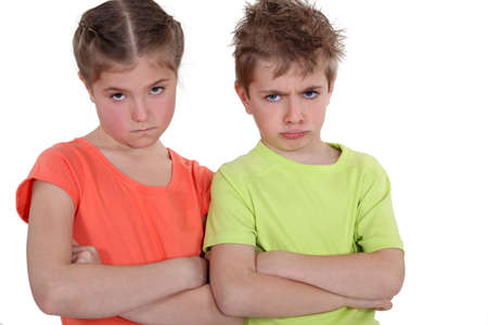 Angry Children Stock Photo - 11947972