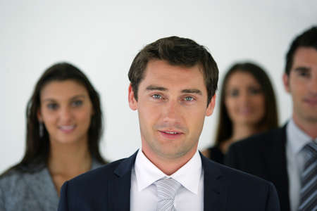 A group of businesspeople Stock Photo - 11971651
