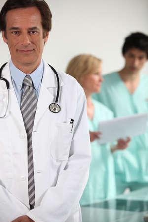 Doctor and nurses Stock Photo - 11972726