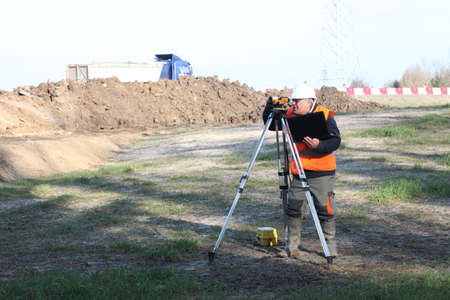 Site surveyor photo