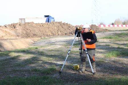 Site surveyor photo