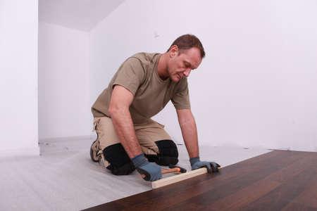 Wooden floor photo