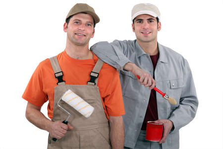co workers: A team of painters
