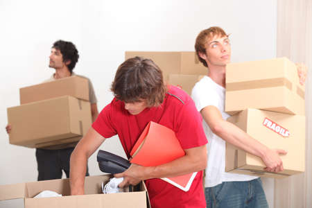 finding a mate: Young men moving house