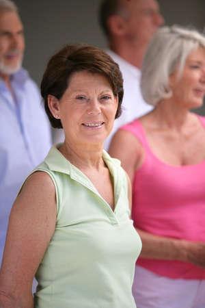 Group of senior people Stock Photo - 12006154