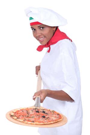 pizza maker: pizza maker