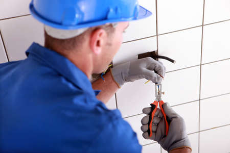 wireman: electrician working