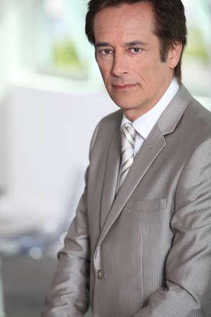 man 40 50: Portrait of male executive
