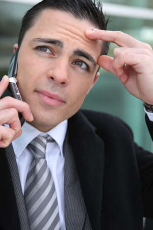 Young businessman successful photo