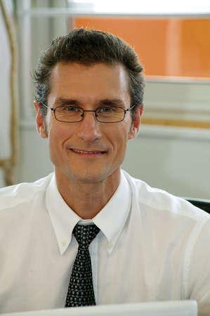 Intelligent lawyer photo