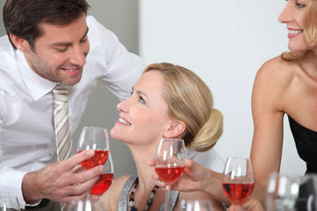 Couple looking into each other Stock Photo - 12019491