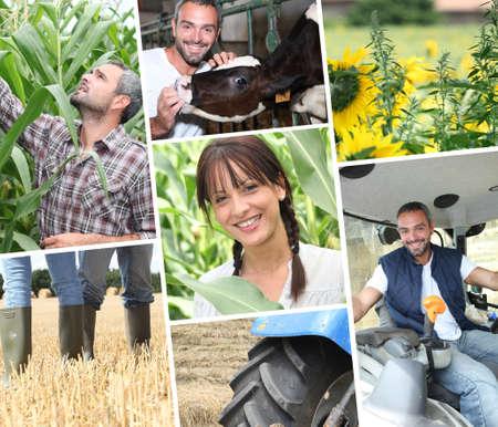 köylü: young farmers