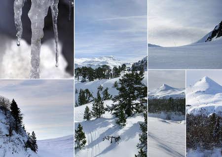 snowy landscapes photo