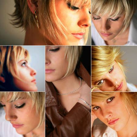 короткие волосы: Женские модели волос