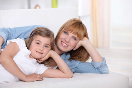 Mother spending quality time with her daughter Stock Photo - 12057673